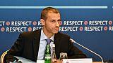 """Ceferin (UEFA): """"Il n'y aura pas de Super Ligue européenne"""""""