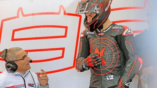 Valencia:test mattina, Petrucci davanti