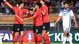 كوريا الجنوبية تواصل مسيرتها الخالية من الهزيمة مع المدرب بينتو
