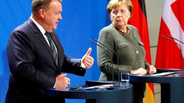 Merkel, Danish PM want good ties with Britain after EU divorce