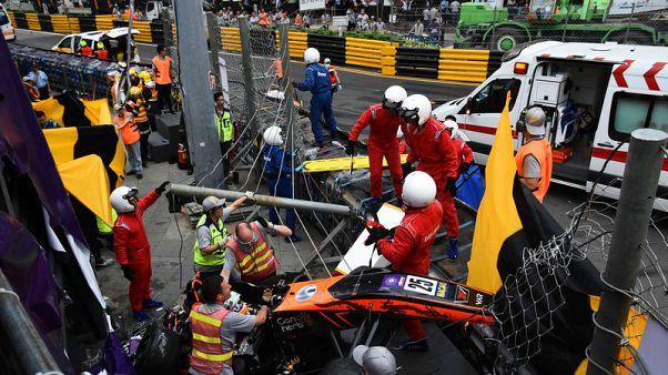 F3 driver Floersch vows to return after injury