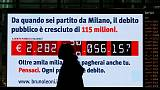 Italy's bond yields rise as budget tensions weigh
