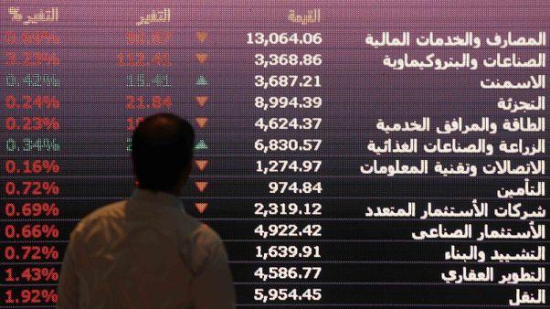 بورصات الخليج تتراجع وخسائر أسهم البنوك تضغط على أبوظبي