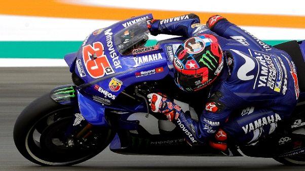 Moto: test Valencia, Vinales svetta