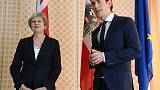 May to meet Austria's Kurz in London on Thursday