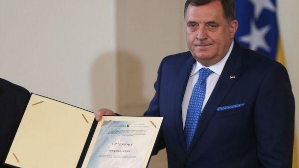 Bosnia's new presidency sworn in, rivalry looms