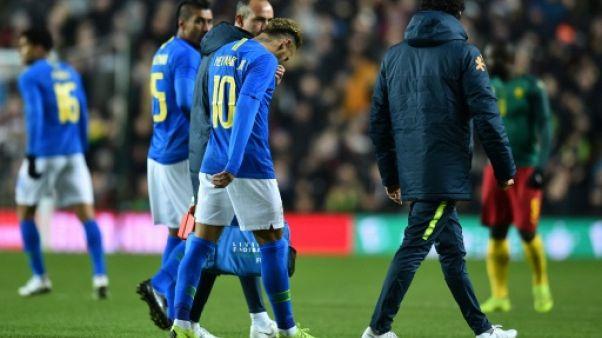 Neymar et Mbappé sortent sur blessure, inquiétude à 8 jours du choc PSG-Liverpool