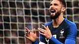Amical: la France termine l'année 2018 par un succès 1-0 contre l'Uruguay