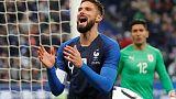 ركلة جزاء جيرو تهدي فرنسا الفوز على أوروجواي بعد إصابة مبابي