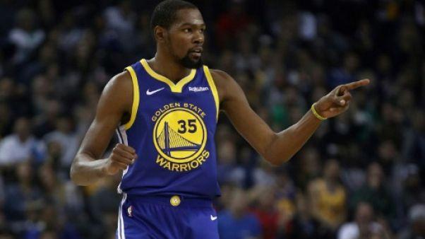 NBA: Kevin Durant écope de 25.000 dollars d'amende pour des propos crus