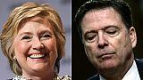 Trump voulait que la justice enquête sur Hillary Clinton et James Comey (presse)