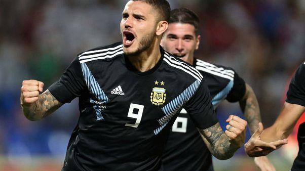الأرجنتين تسجل في البداية وقرب النهاية أمام المكسيك وديا