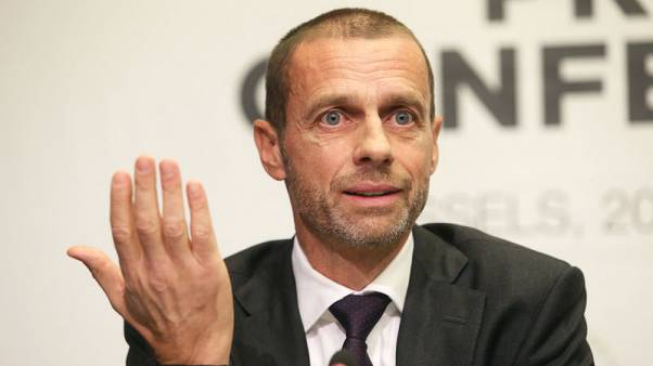Champions League may use VAR this season - Ceferin