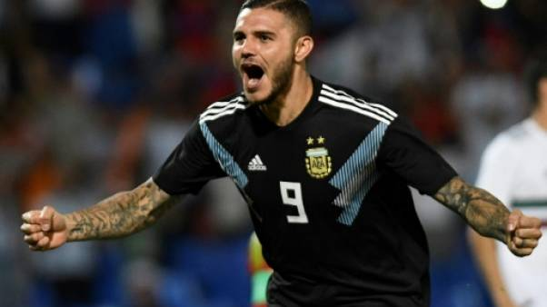 Amical: l'Argentine bat le Mexique, 1er but pour Icardi et Dybala