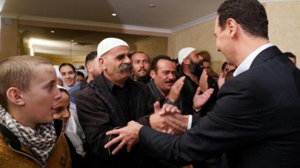 Les druzes de Syrie refusent le service militaire, malgré les appels du régime