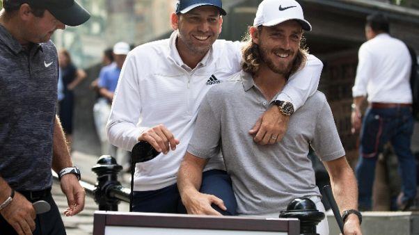 Golf: Hong Kon Open con Reed e Fleetwood