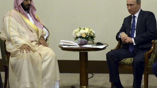 الكرملين: بوتين قد يلتقي ولي عهد السعودية على هامش قمة مجموعة العشرين