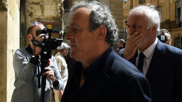 Corruption Fifa: l'avocat de Platini saisit l'autorité de surveillance du parquet suisse