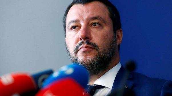 Italy's Salvini says 2.4 percent deficit target not negotiable