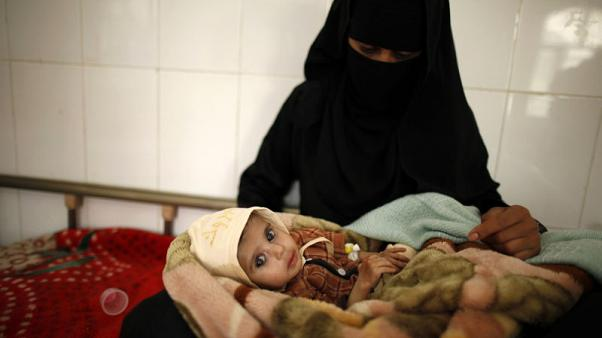 More than 80,000 Yemeni children may have died from hunger - humanitarian body
