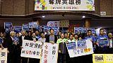 """""""Je veux participer aux JO"""": les sportifs taïwanais mobilisés pour le """"non"""" au référendum"""