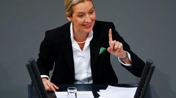 German prosecutors probe far-right leader over election donations