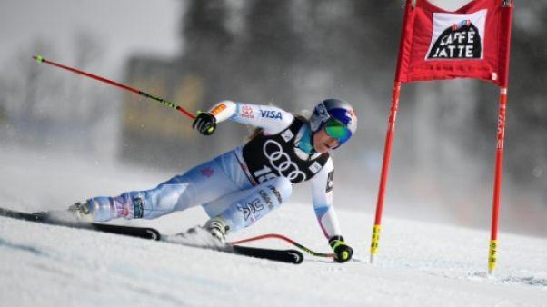 Ski: forfait de Lindsey Vonn pour l'étape de Lake Louise