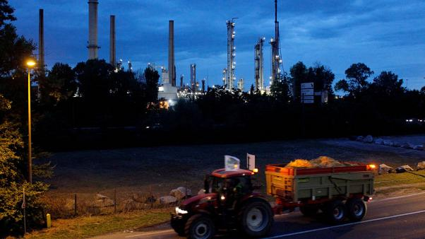 France's CGT union says strike affects two Total refineries