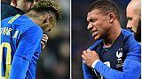 """Paris SG: """"élongation"""" pour Neymar, """"contusion"""" pour Mbappé (club)"""