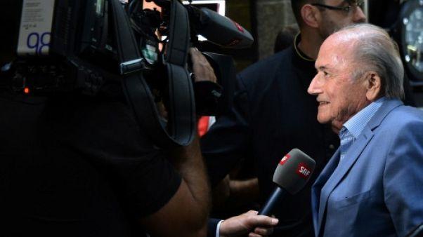 """Football Leaks: la Fifa """"doit enquêter sur Infantino"""", estime Blatter"""