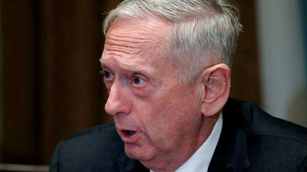 U.S., South Korea to reduce scope of 'Foal Eagle' military drill - Mattis