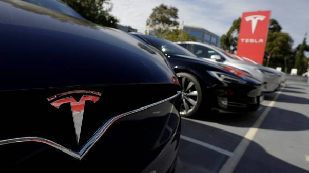 Tesla cuts China car prices to absorb hit from trade war tariffs