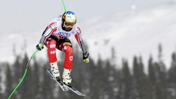 Ski: Osborne Paradis blessé à l'entraînement