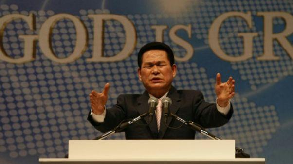 Le pasteur sud-coréen Lee Jaerock à Jérusalem le 6 septembre 2009.
