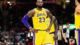 NBA: retour gagnant pour LeBron James, Golden State en crise