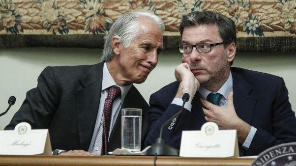 Coni, Malagò 'domani vedo Giorgetti'