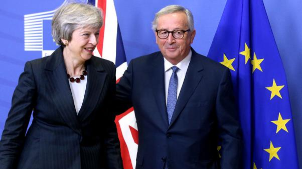 EU, Britain agree draft deal on post-Brexit ties, await summit approval