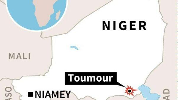 Localisation de la ville de Toumour au Niger