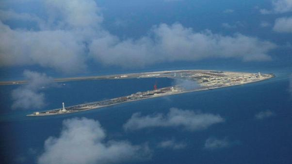 Vietnam protests new building by Beijing in South China Sea