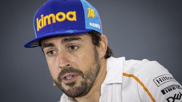"""Alonso saluta F1 """"ma porta non è chiusa"""""""