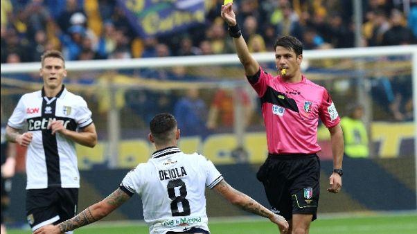 Calcio: Lazio-Milan a Banti
