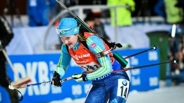 Dopage: neuf biathlètes kazakhs suspendus provisoirement
