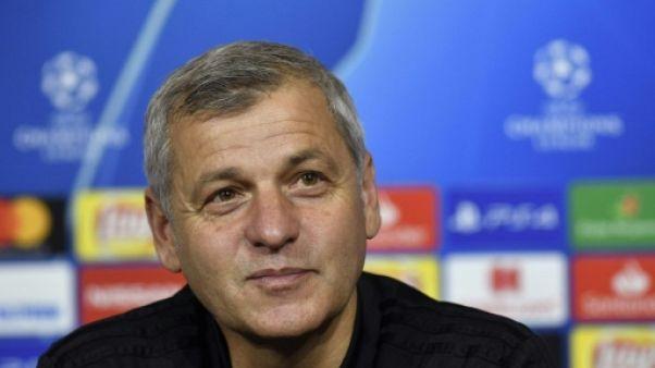 L'entraîneur de Lyon Bruno Genesio, le 6 novembre 2018 au Parc OL