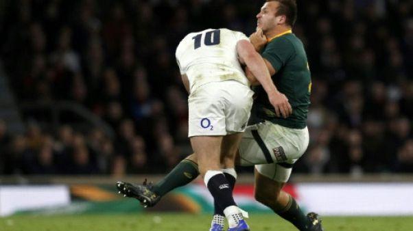Plaquages dangereux: le patron de World Rugby appelle à durcir les sanctions