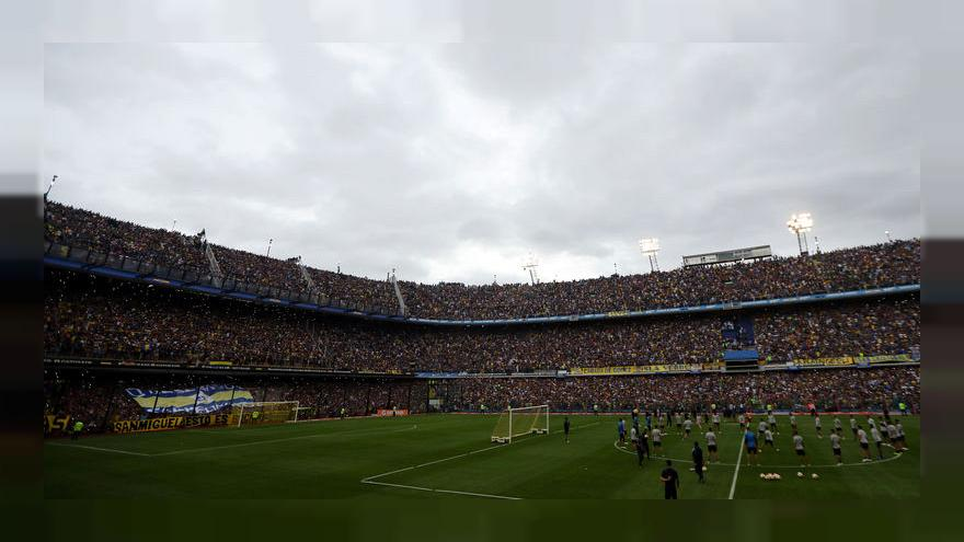 كأس ليبرتادوريس: أنصار بوكا جونيورز يغزون الملعب لحضور أخر تدريب قبل النهائي ضد ريفر