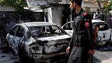 انتحاريون يهاجمون قنصلية الصين في باكستان وسط أعمال عنف في المنطقة