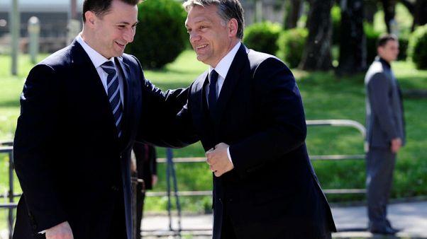 Hungary's Orban defends asylum for fugitive Macedonian ex-leader