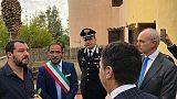 Salvini: caserma nella casa confiscata