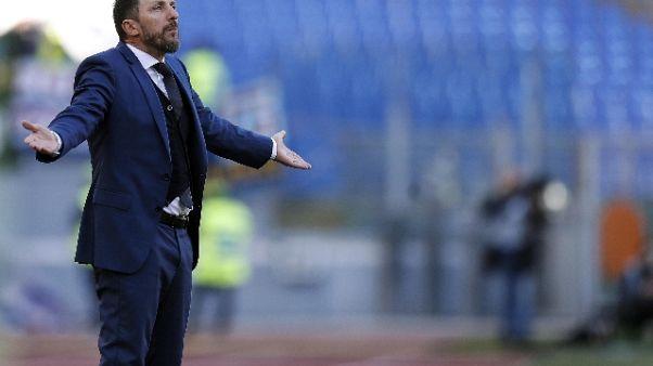 "Roma, Di Francesco ""Udinese? sarà dura"""