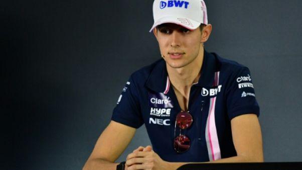F1: Ocon sera pilote de réserve de Mercedes en 2019
